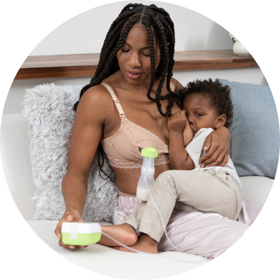 pumping with the best breast pump